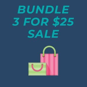 Other - Buy 3 🛍️ items and pay $25